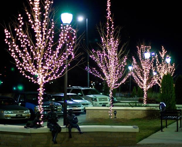 Blue Sky mercial Decor Tree Lighting
